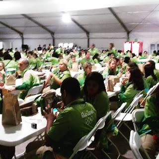 refeitório, voluntários, maracanã, diabetes
