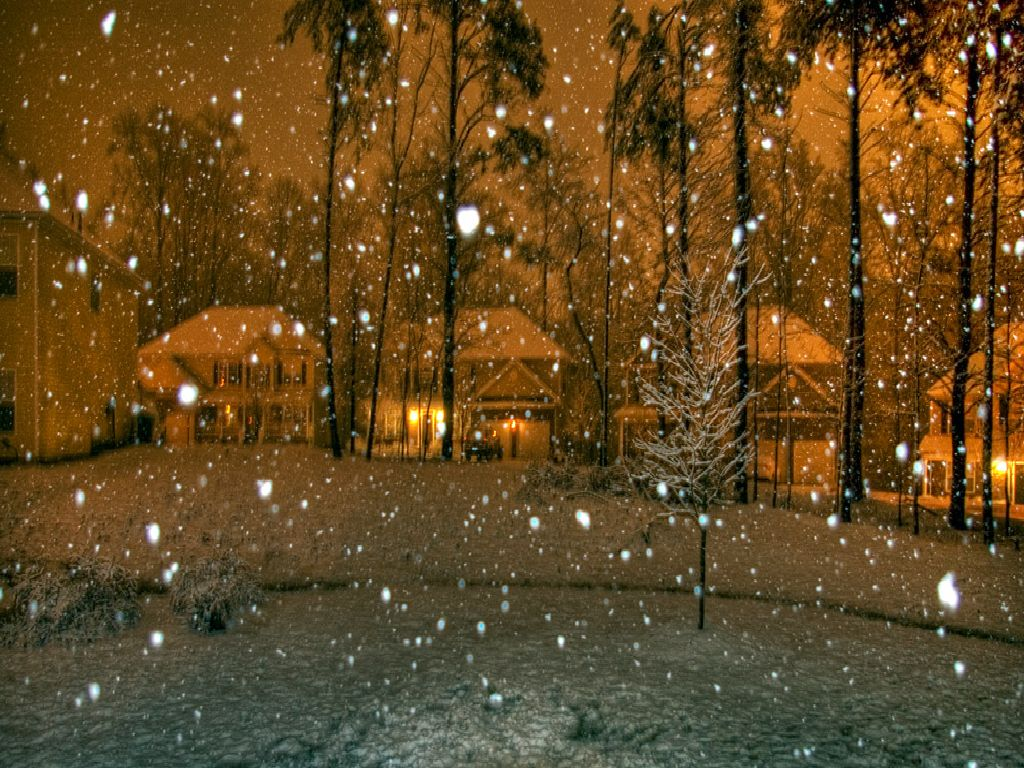 Snow Falling Wallpapers Free Download Snowing Wallpapers Hd Wallpaper Pic