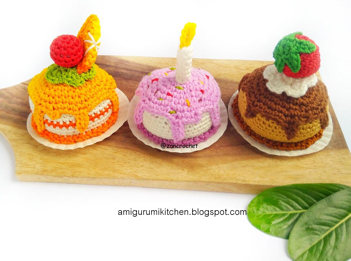 Roundup: 20 Free Crochet Patterns for Pretend Play Food - CrochetKim™ | 894x1200