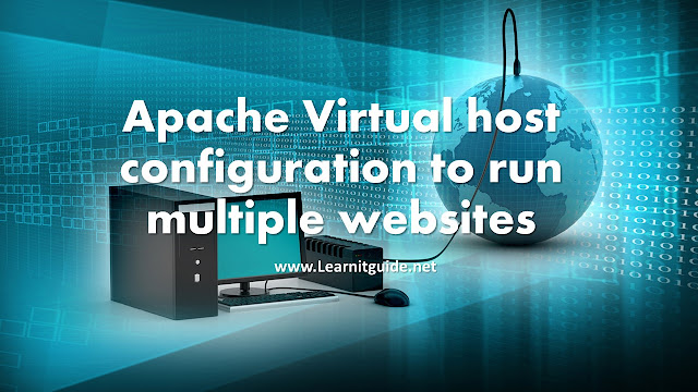 Apache Virtual Host Configuration to run multiple websites