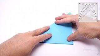 Cách gấp máy bay giấy phong cách Origami 3
