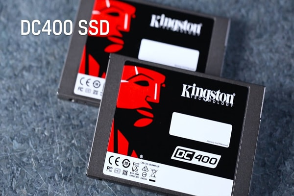 Hd SSD Kingston linha DC400