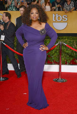 Oprah Winfrey Screen Actors Guild Awards 2014