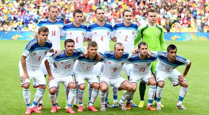 Piala Dunia 2018 Timnas Russia