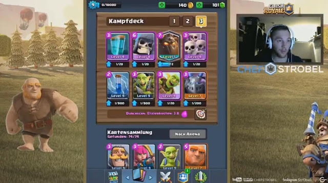4 Novas Cartas no Clash Royale