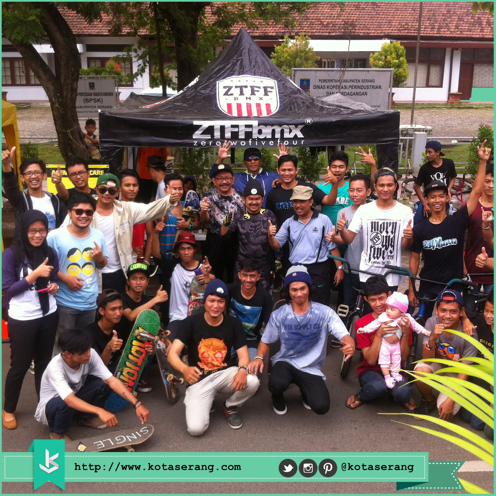 Walikota Serang Foto Bareng dengan Komunitas BMX, Komunitas Skateboard dan Komunitas Akustik 2