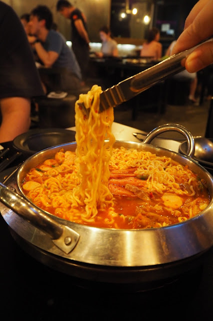 8 korean bbq Budae Jigae (Army Stew) review