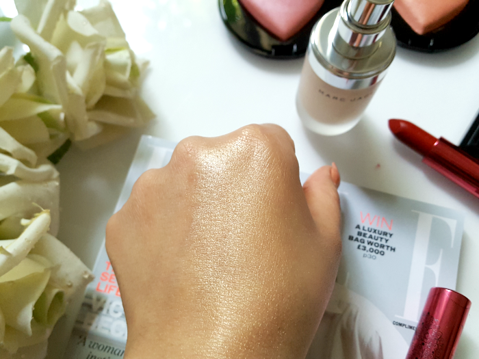 Swatches: Marc Jacobs Beauty Dew Drops Coconut Gel Highlighter - $44.00