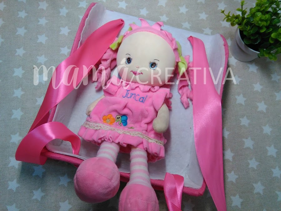 Mochila porta muñecos