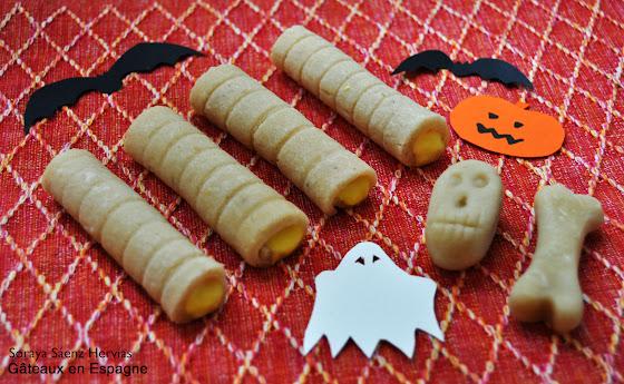gateaux massepain amandes halloween toussaint
