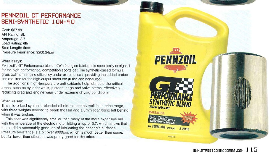 Redlinemax Top Brand Engine Oil Test By Timken Ok Load
