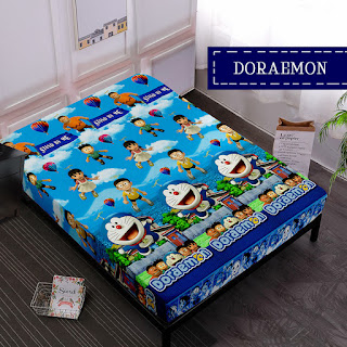 Sprei Waterproof Doraemon