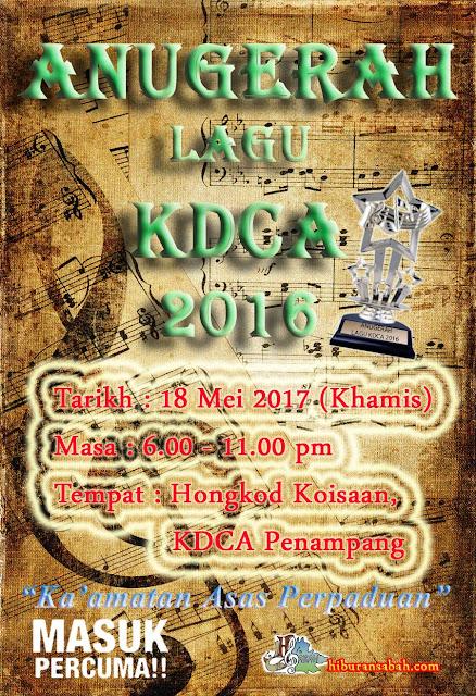 Majlis Anugerah Lagu KDCA 2016