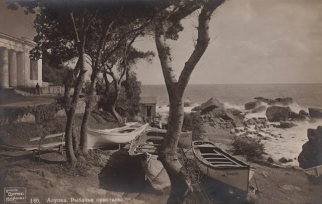 Алупка. Фото Василия Сокорнова, 1912