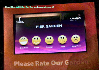 Suggestion feedback, Pier Garden, Departure Hall, T3, Changi Airport, Singapore