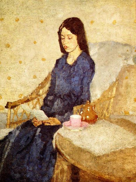Reading And Art Gwen John