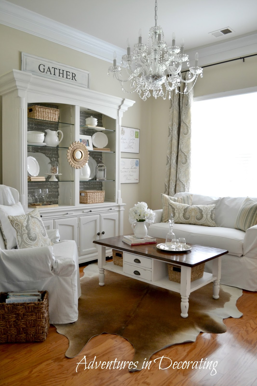 Kitchen Sitting Rooms Designs: Adventures In Decorating: Sitting Room Changes ... Again
