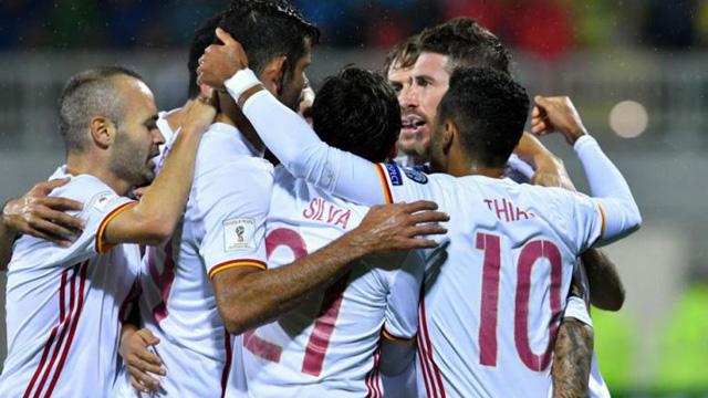 [Video] Cuplikan Gol Albania 0-2 Spanyol (Kualifikasi Piala Dunia 2018)