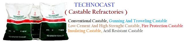 Technocast Castable Refractories Tahan Api & Tahan Suhu Tinggi