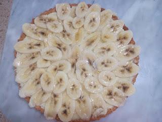 Recette d'une tarte aux bananes avec crème pâtisserie et pâte sablée