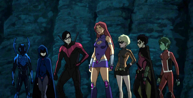 Teen Titans Dc Movie