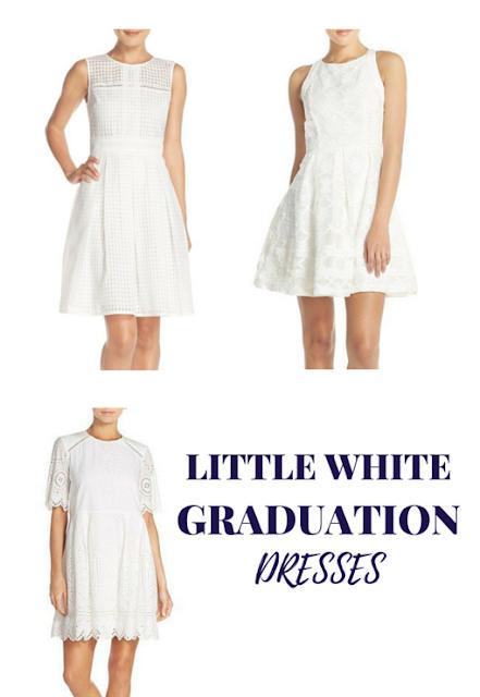 prep for a day little white graduation dresses