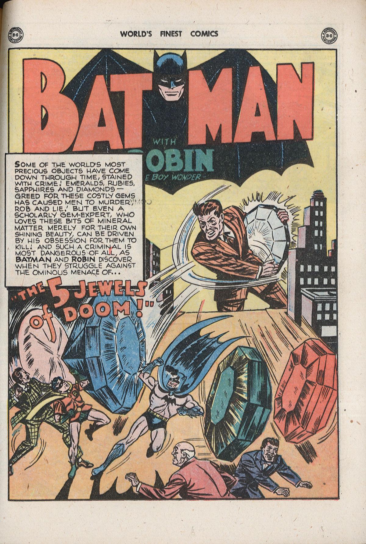 Read online World's Finest Comics comic -  Issue #33 - 61