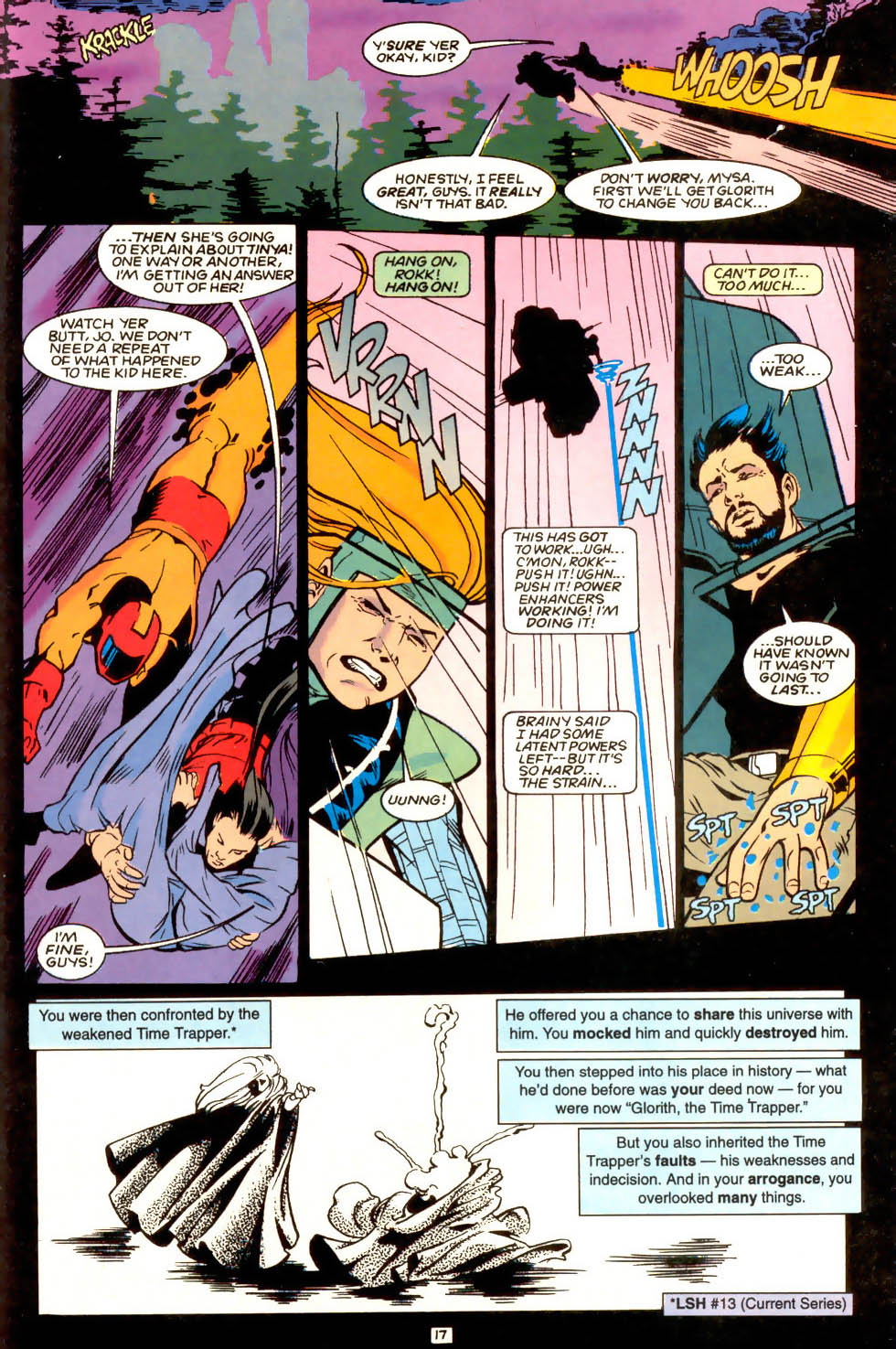 Legion of Super-Heroes (1989) 53 Page 17