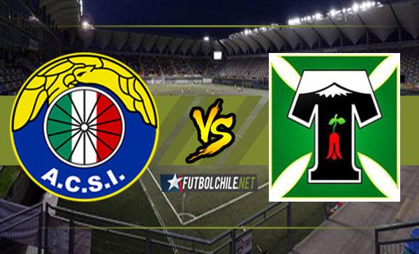 Audax Italiano vs Deportes Temuco - 20:00 h - Primera División - 19/02/18