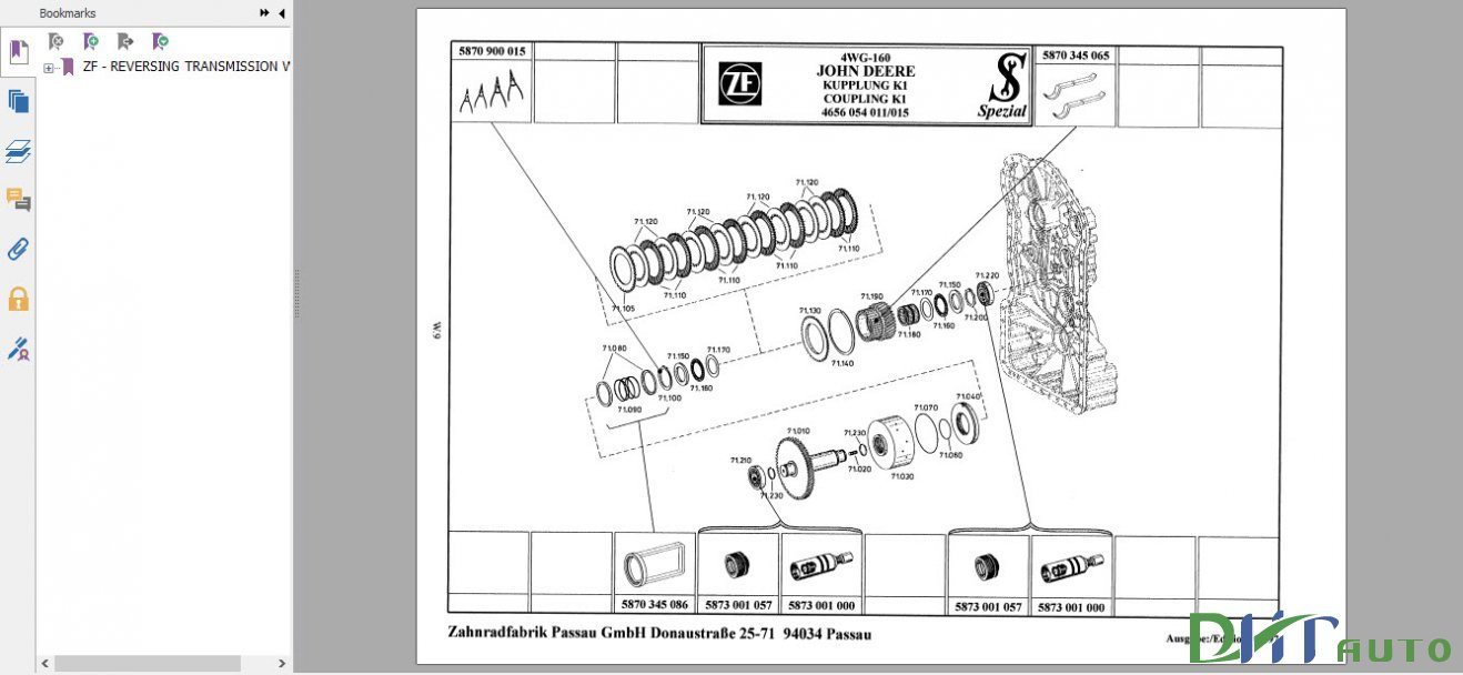 Zf Transmission Manual 280