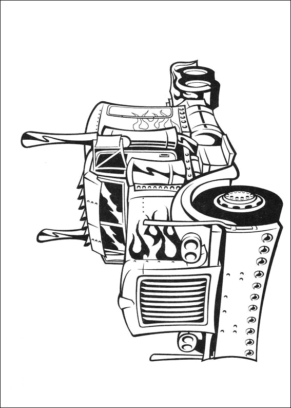 free online transformer coloring pages - photo#25