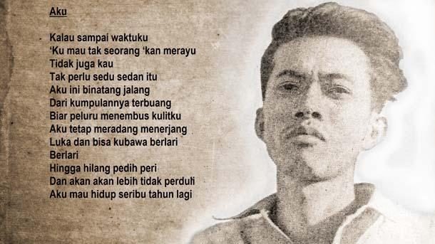 Kumpulan Puisi Karya Chairil Anwar