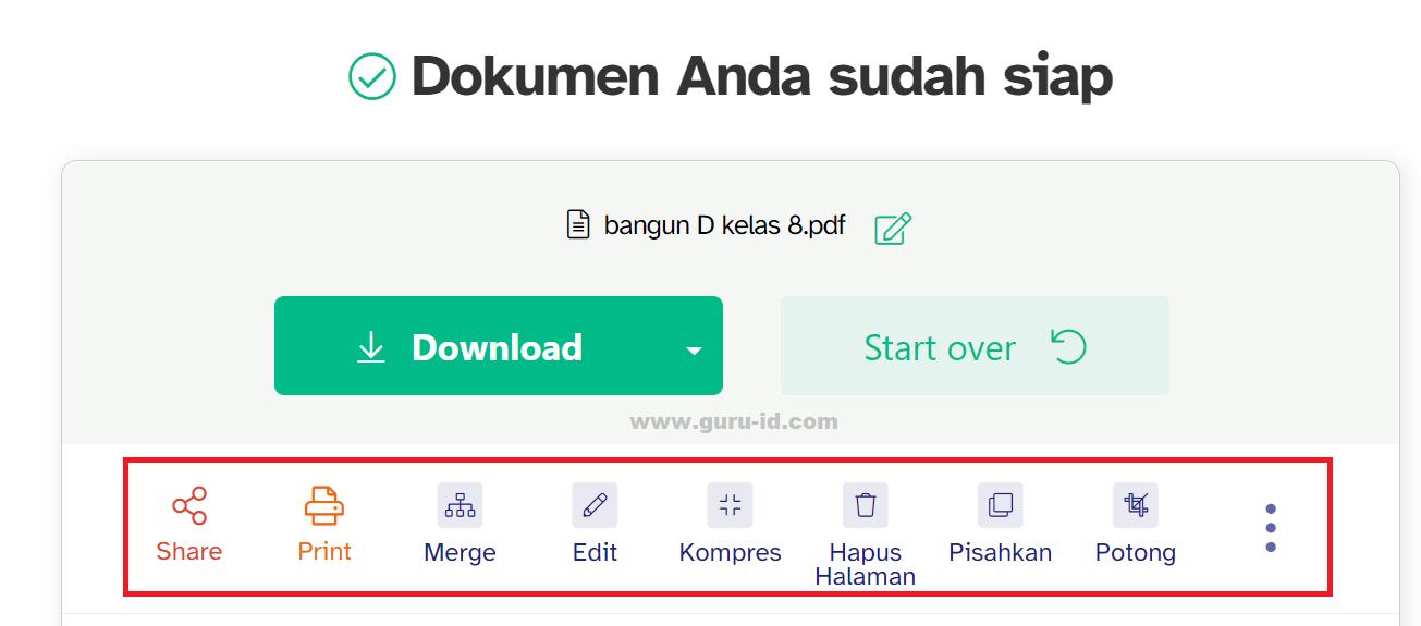 gambar cara edit file pdf secara online