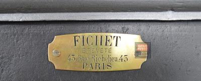 Ancien coffre Fichet