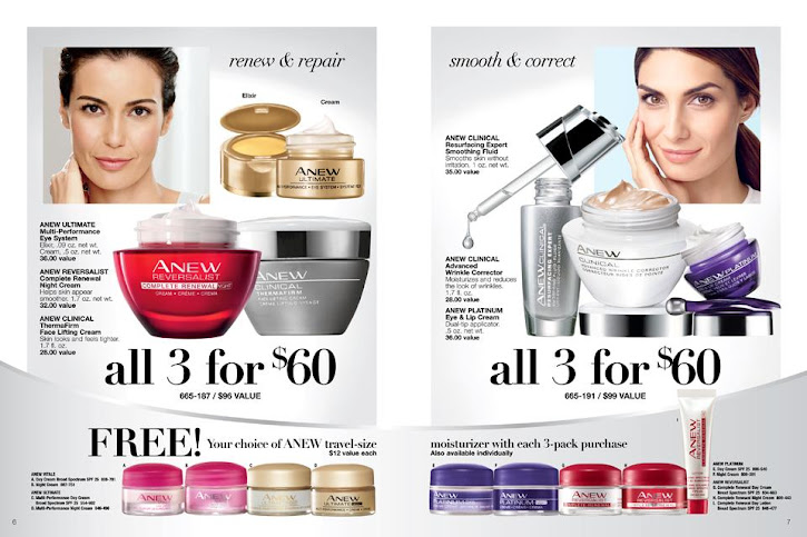 Renew & Repair / Smooth & Correct With Avon Anew Skincare bundles and save at an amazing value and most of all quality products that delivers..
