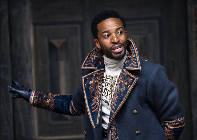 Shakespeare: Othello - Andre Holland - Shakespeare's Globe (Photo: Simon Annand)