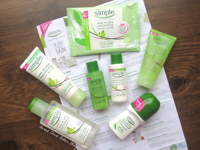 Simple Kind-to-Skin and Kind-to-Eyes Skincare Review