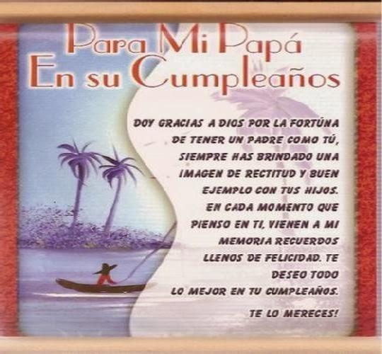 Frases De Cumpleaños Para Papa Cumpleaños Feliz Frases De