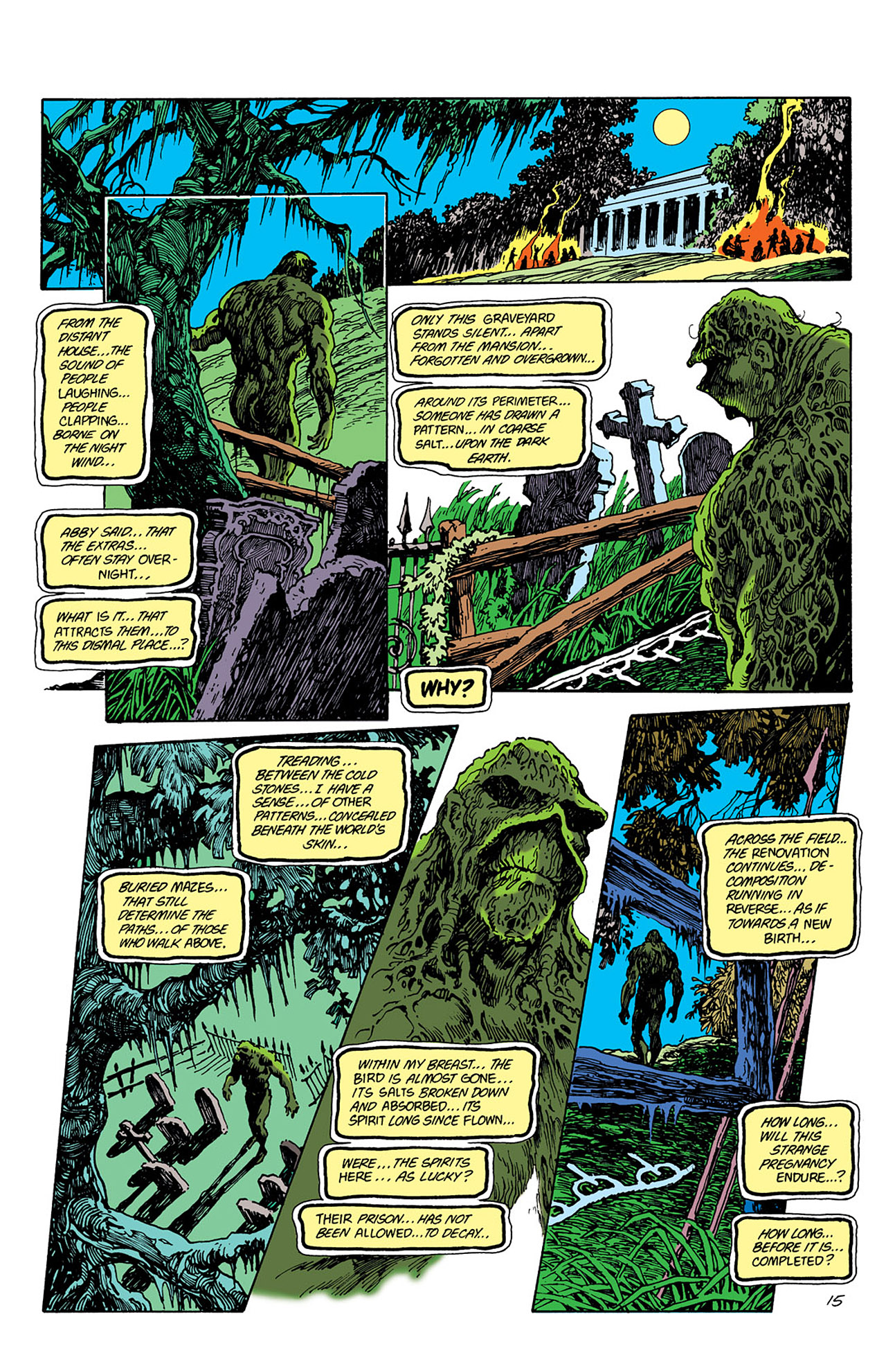 Swamp Thing (1982) Issue #41 #49 - English 15