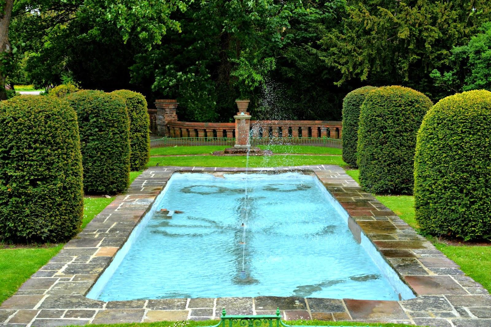 Fountain in Cheltenham