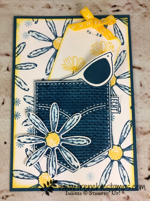 Pocketful of Sunshine, Daisy Delight, Stampin'Up!, Frenchiestamps,