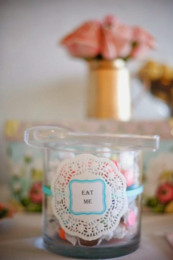 Ideas para una Candybar de Bautizo.