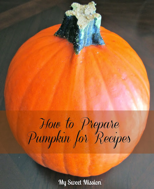 pumpkin ready to prepare for recipes_diy