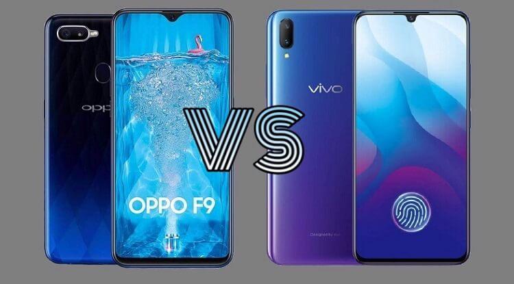 OPPO F9 versus Vivo V11