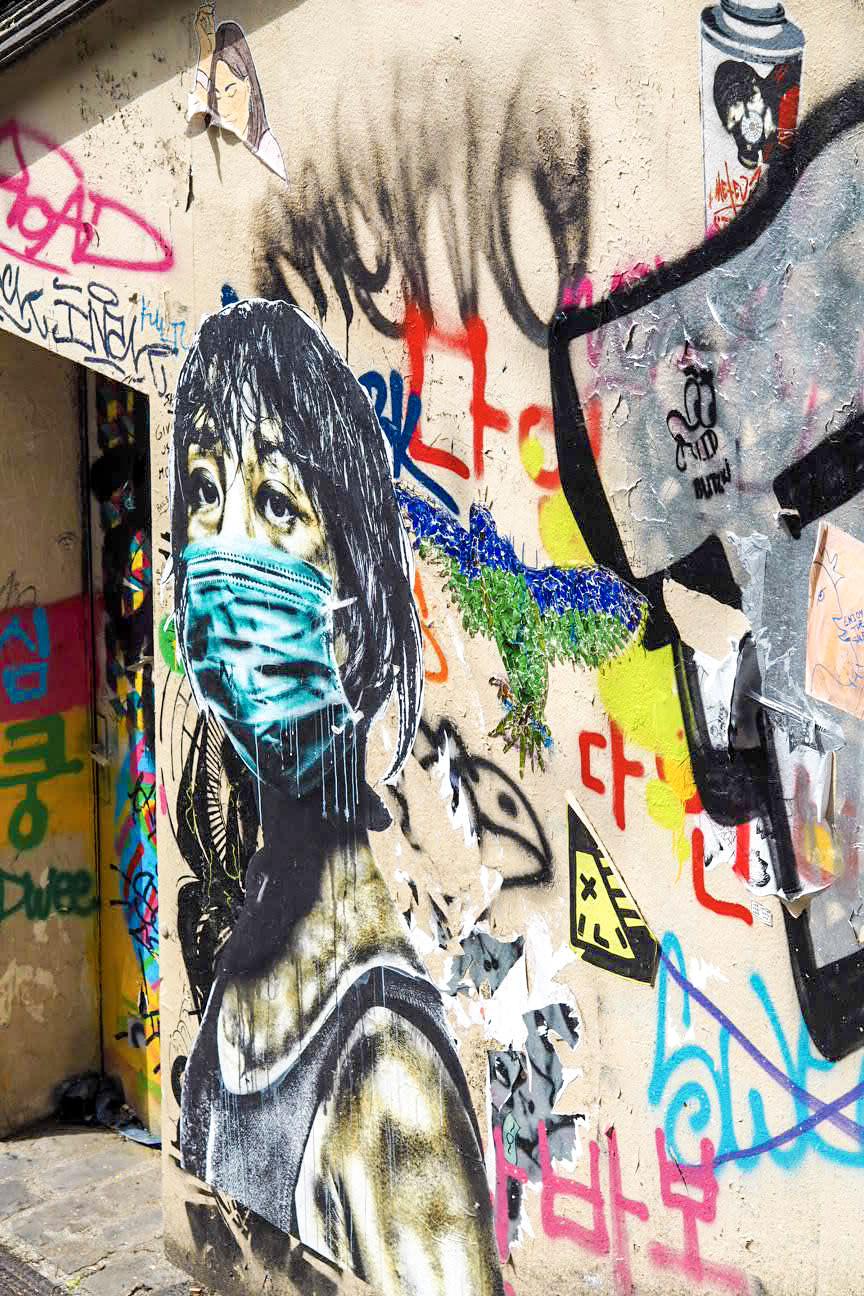 Street art in Montmartre