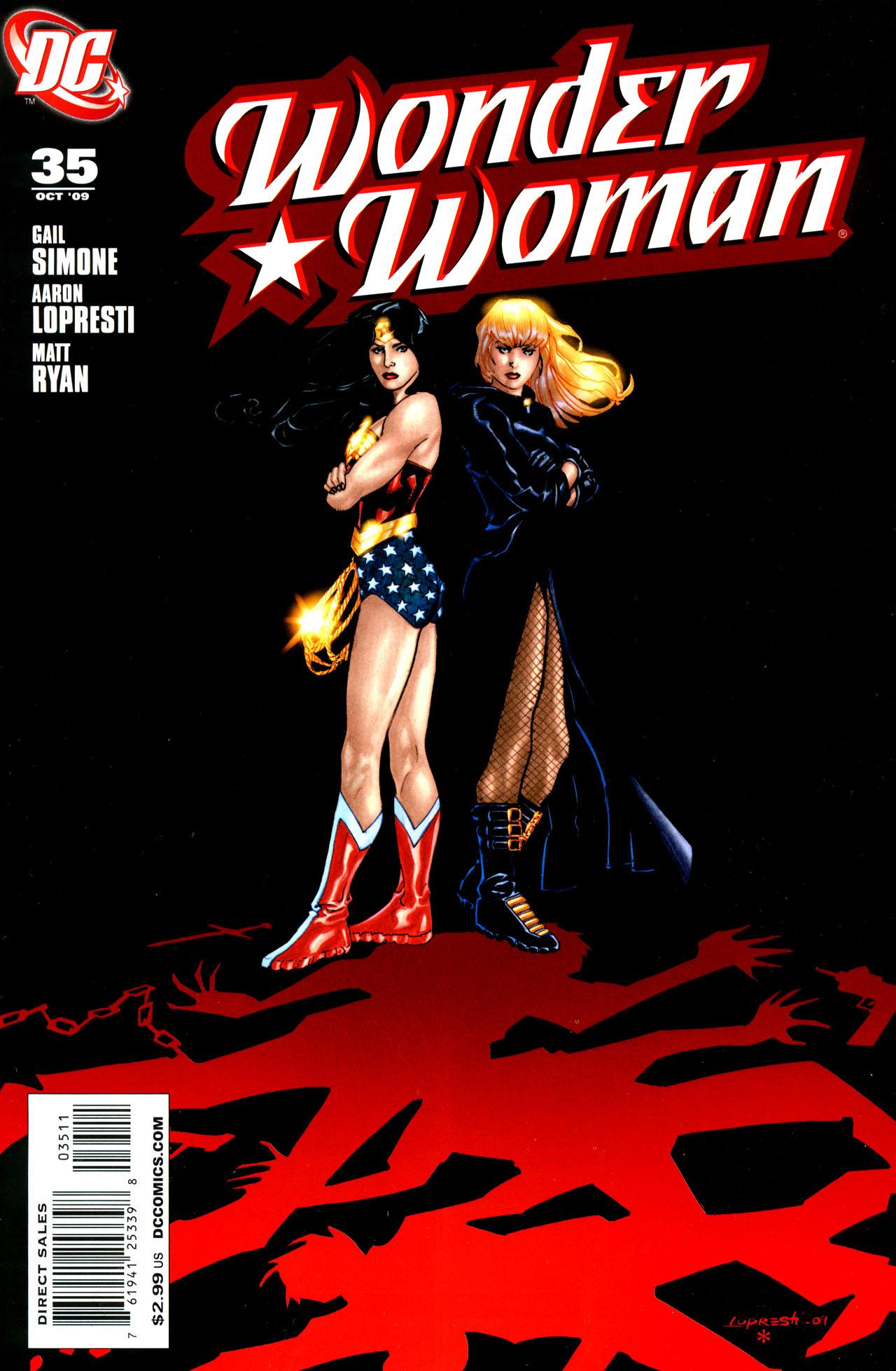 Read online Wonder Woman (2006) comic -  Issue #35 - 1