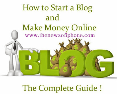 Beginner Guide to Earn Money Through Blog ~ The News of iPhone