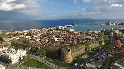 Ολοκληρώνεται το έργο της αποκατάστασης μέρους του τείχους του Κάστρου της Χίου