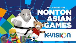 Cara Nonton Asian Games di TV Berbayar K-VISION