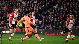 Mohamed Salah Scores As Liverpool Beat Southampton To Move 3rd On The Table